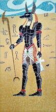 Ancient Egyptian Anubis Mosaic Tottenham Maribyrnong Area Preview