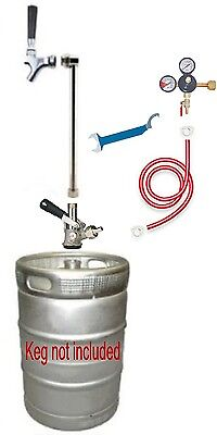 Beer Tap Handle Party Pump Co2 Kegerator Converstion Kit Draft Coupler