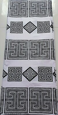 Kente Design (AFRICAN GHANAIAN KENTE ANKARA FABRIC PRINT 2507506 GHANA WAX NEW DESIGN PER YARD)