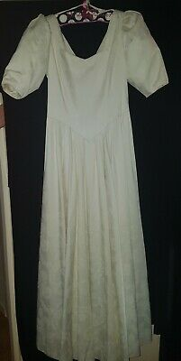 Vintage laura ashley wedding dress size 12