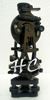 Antique Brass Theodolite Transit Surveyors Alidade Vintage Surveying Instruments