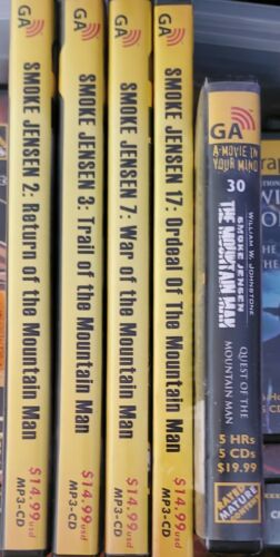 Graphic Audio AudioBook William Johnstone Smoke Jensen The Mountain Man Series