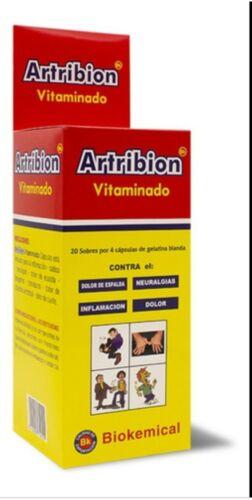 1 ARTRIBION VITAMINADO 80 caps DISPLAY 20 Packs x 4 Capsules