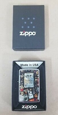 Zippo Lighter - Salute to the Military - Montage - Army Navy Air Force Marines