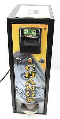 Seaga 15 Bill Changer Coin Maker Vending Machine 120 Cap. Jcm Dbv-20 Read