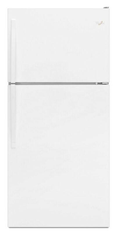 Whirlpool 20 cu.ft. Top Freezer Refrigerator in White