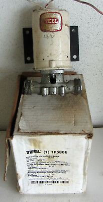 Teel 12 Volt Self Priming Marine Utility Pump 1p580c Usa