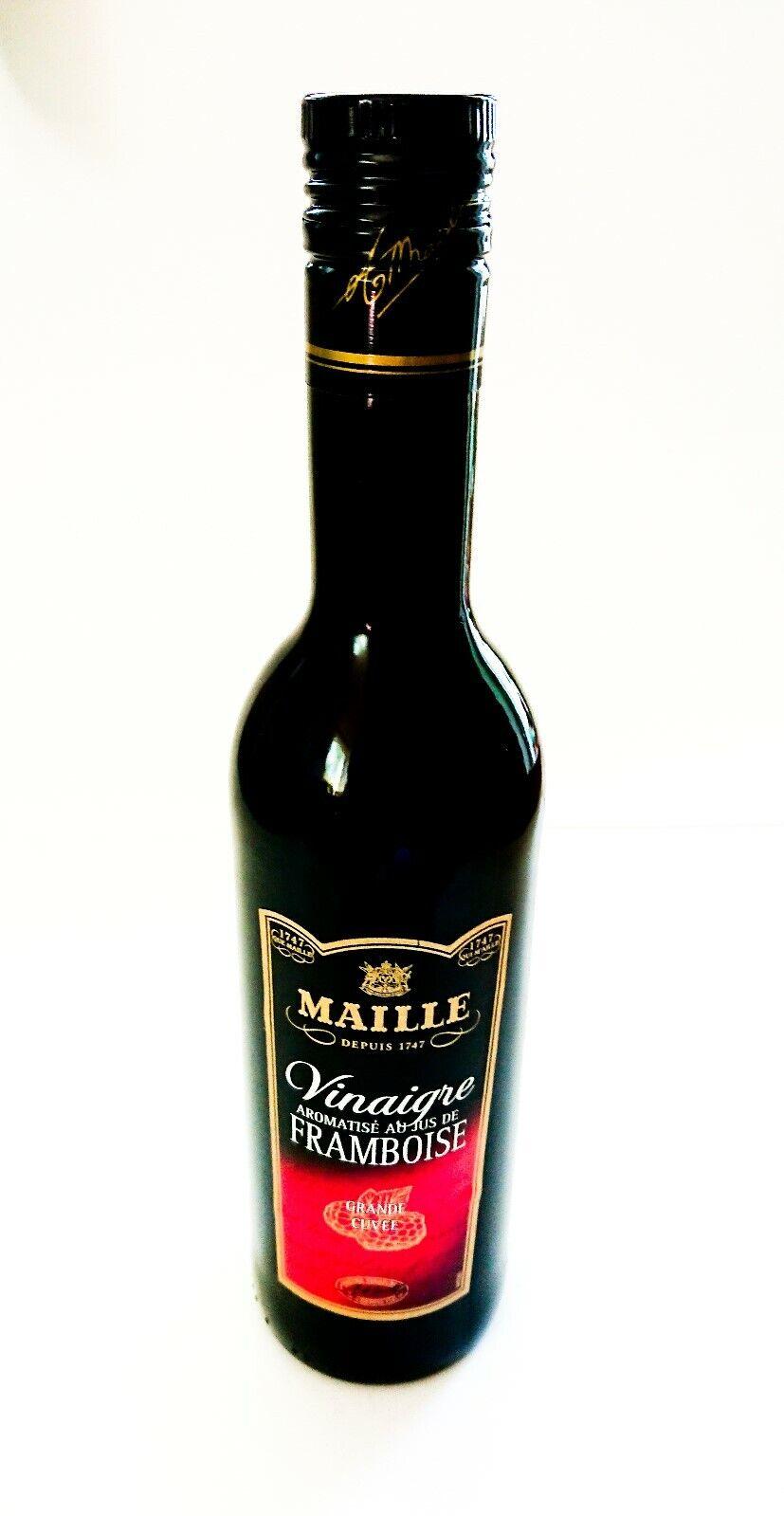 Essig Himbeeressig Vinaigrette Framboise Himbeere Rotwein Maille 0,5l Frankreich