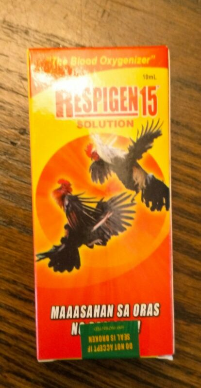 Respigen 15 Gamefowl Gallos Rooster Supplement (10 ml.)