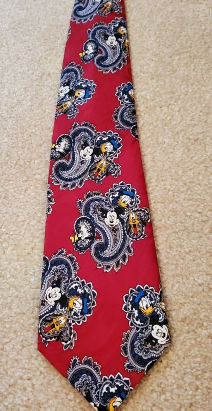 Mickey Mouse Neck Tie Disney Mickey Unlimited