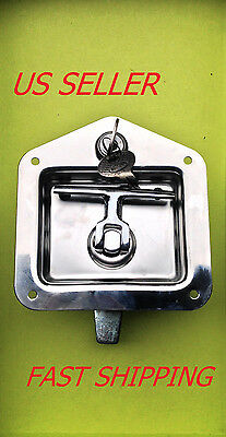T Handle Heavy Duty Lock Stainless Steel For Electricity Station Truck 215