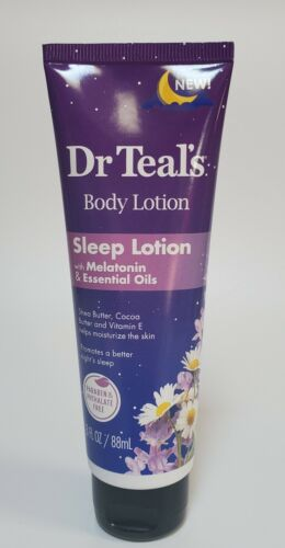 dr teals body lotion with melatonin