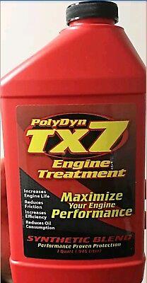 (PolyDyn TX7 Engine Treatment Case of 12 Bottles)