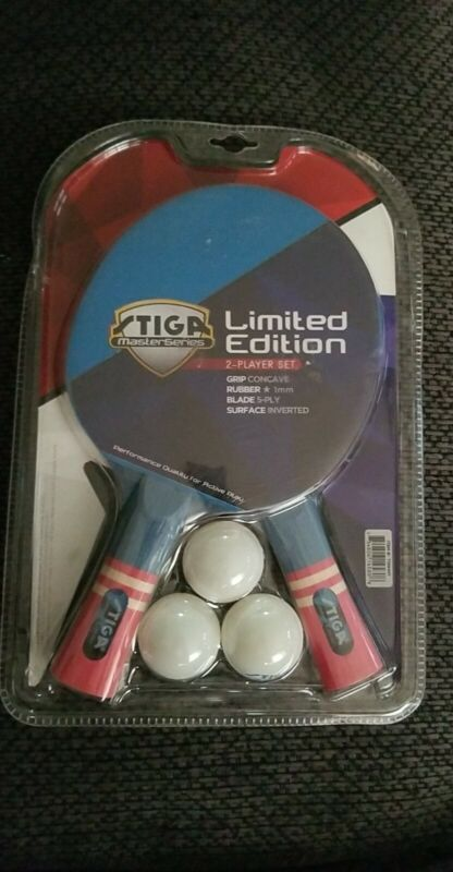 Stiga MasterSeries 2-Player Set Paddles And Ball