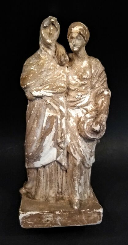 Ancient Style Greek Tangara Figure - ITALY - 19th Century Grand Tour