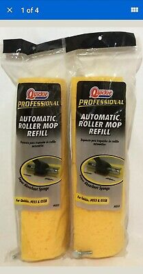 2 x Quickie Professional Automatic Roller Mop Refill 12