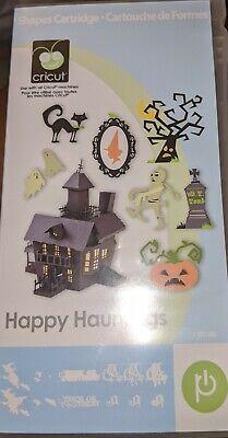Cricut Happy Hauntings Cartridge Halloween Decorations Witch Zombies Vampire