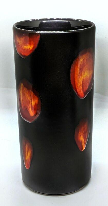 Lava Glaze Galaxy Pattern Poole Pottery Vase