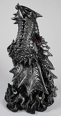 PUFF DRAGON HEAD INCENSE BURNER Serpent Fantasy NEW Sculpture Figurine Smokes
