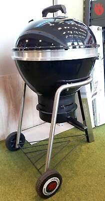 Landmann Black Pearl Comfort Kugelgrill 47 cm Holzkohlegrill Thermometer 31341