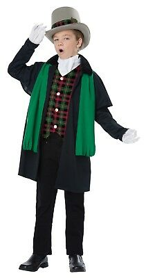 Victorian Girls Costumes (Holiday Caroler Boy Christmas Dickens Victorian Child)