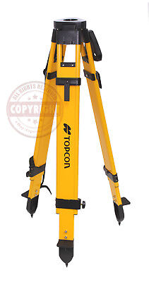 Topcon Heavy-duty Wood Tripodsurveyingtrimblesokkiasecogps Roboticleica