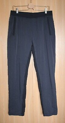 Lululemon Men's Size L Dark Gray/Black  Sweatpants w Drawstring Waistband
