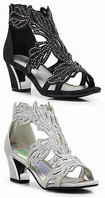 Evening High Heels - Women Evening Dress Shoes Rhinestones High Heels Platform Wedding Black Lime-3