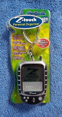 Vintage Z-touch Personal Organizer With Calculator Sealed Package Extra Stylus