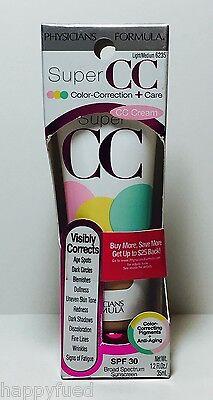 Physicians Formula Super CC Cream SPF 30 #6235 Light Medium Color Correcting