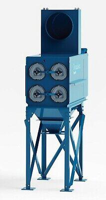 Donaldson Torit Dfe Dust Collector Dfe2-4 2000 Cfm