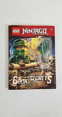 "Lego Ninjago Book Of Secrets With ""Green Ninja""  Minifigure Scholastic"