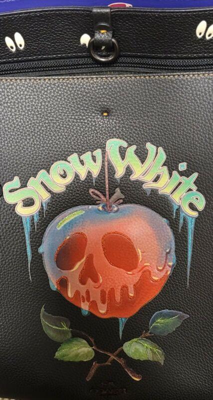 MINT Disney X Coach Tote Dark Fairy Tales Snow White Poison Apple Limited