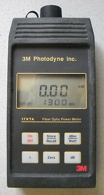 3M Photodyne 17XTA Fiber Optic Power Meter LWL Messtechnik