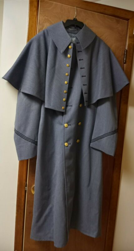 Coat / Vintage USMA West Point Cadet Army JV Military Parade Wool Long Jacket .