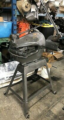 Nice Rotex 10 Station Manual Turret Punch Press