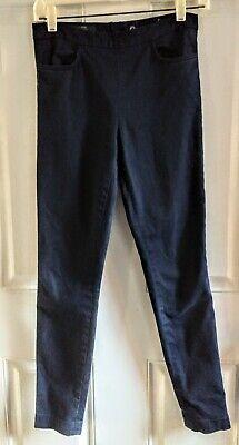 J.Crew Size 0 Dannie Pant Navy Blue Skinny Fit Flat Front Back Zipper