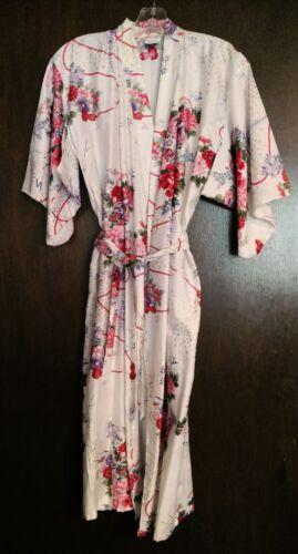 Vintage Girls Size 45-US Girls 7/8 Japanese Kimono Style Robe Rare - Gorgeous!