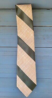 1950s Men's Ties, Bow Ties – Vintage, Skinny, Knit Vintage Beau Brummell Skinny Necktie Tie Rockabilly Mad Men 1950s Mid-century $9.75 AT vintagedancer.com