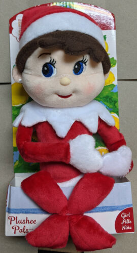 """New In Box The Elf On The Shelf GIRL """"Nina"""" A Christmas Tradition Plushee Pals"""