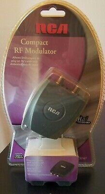 SEALED RCA CRF907 Compact RF Modulator  New Audio/Video Digital Converter