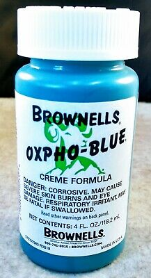 Oxpho-Blue Professional Grade Cold Gun Blue CREME Free Shipping. It Works Great!