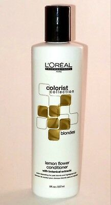 LOREAL  COLORIST COLLECTION BLONDES CONDITIONER ( LEMON FLOWER ) - Loreal Lemon Flower