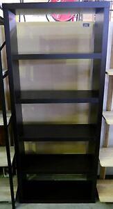 New Tall Walnut Bookcase Bookshelf Storage Unit Room Divider Melbourne CBD Melbourne City Preview