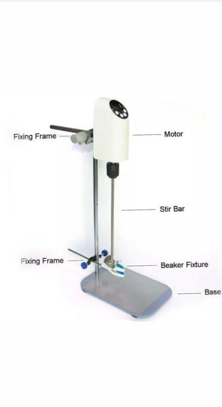 Electric Lab Overhead Stirrer Mixer 40L Digital! New open box
