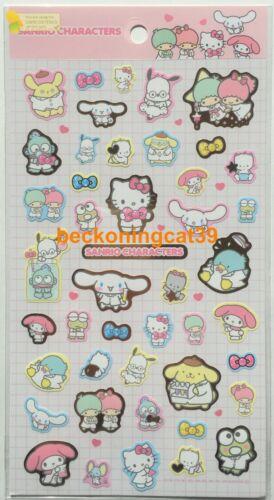 Sanrio Sticker Kitty My Melody Little Twin Stars Pompompurin Cinnnamoroll JAPAN