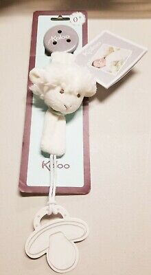 Kaloo Vanilla Lamb Pacifier Holder *Brand New* - Make Pacifier Holder