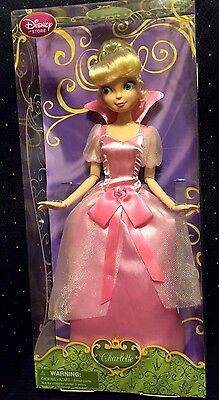 "Disney Store CHARLOTTE Princess and the Frog Classic Doll NIB 12"" RARE"