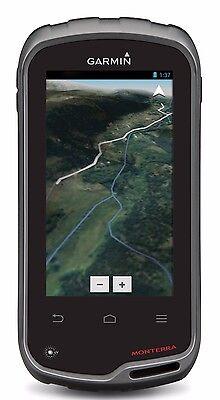 Garmin Monterra Worldwide Or Us Topo 100K Gps Handheld W  Android 010 01065