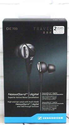 Sennheiser CXC 700 Travel In-Ear Noise Cancellation Headphones TalkThrough